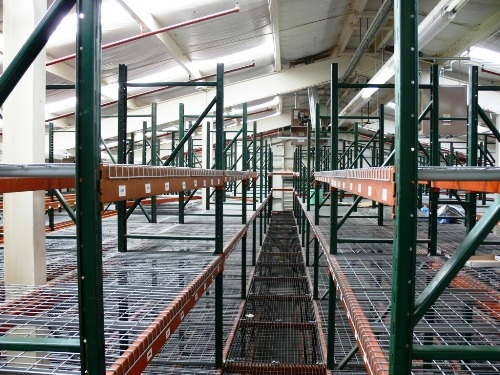 Used Pallet Rack with Catwalk